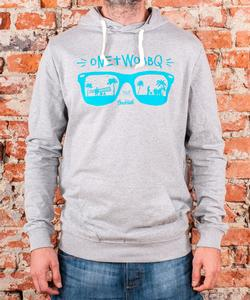"Soulmade Hoodie ""One Two BBQ"" Heather Grey"