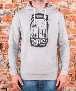"Soulmade Hoodie ""Trapped"" Heather Grey"