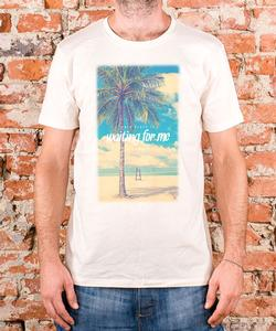 "Soulmade T-Shirt ""Waiting For Me"" Natural"