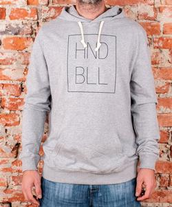 "Soulmade Hoodie ""HNDBLL"" Heather Grey"