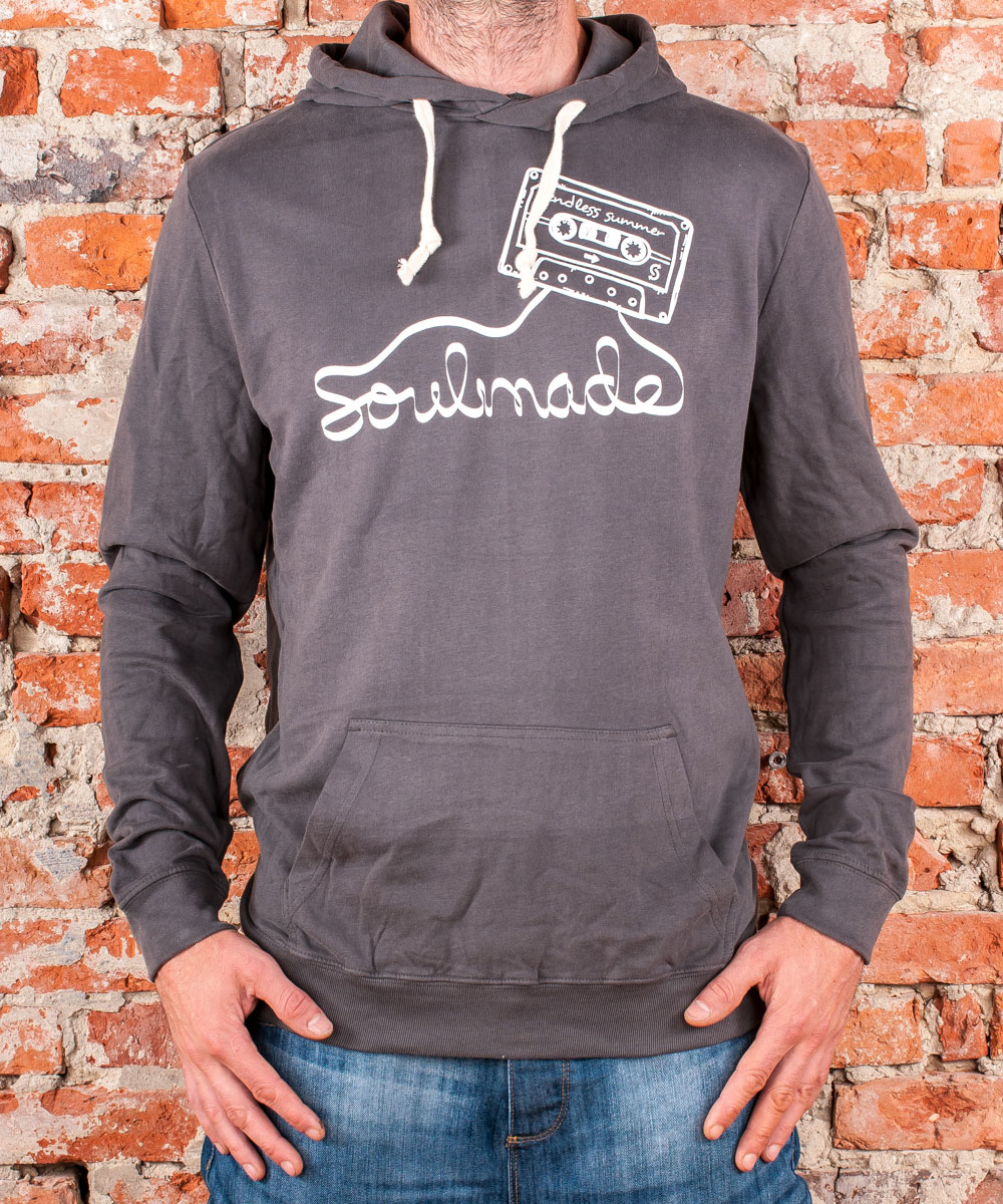 "Hoodie ""Endless Summer"", Uni, Anthracite"