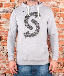 "Soulmade Hoodie ""Fly S"" Heather Grey"